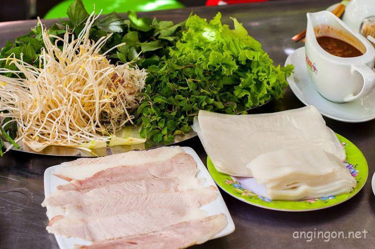 Bánh Tráng Thịt Heo Trần